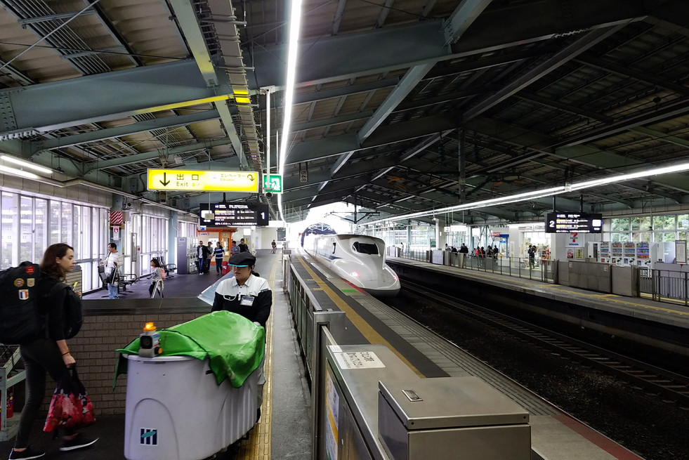 Catching the bullet train