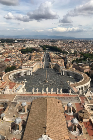 On top of St. Peter's