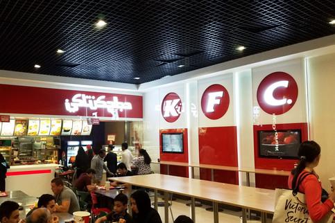 I loved seeing familiar brands written in Arabic