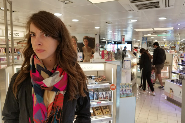 Do people actually buy makeup on a ferry?