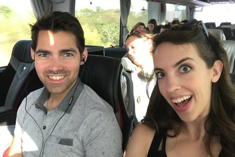 On the bus to Lisbon