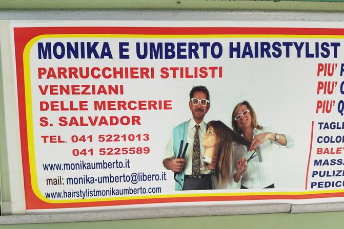 An amusing ad on the vaporetto.