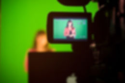 En greenscreen filmning kan användas till mycket.