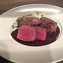 蝦夷鹿内モモ肉のロースト/Roti de cerf