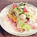 自家製生ハムと小夏・甘夏のサラダ / Salade de jambon cru et orange