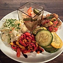 野菜惣菜の盛り合わせ Asiette de  légumes