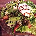 鴨砂肝のサラダ