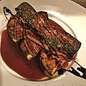 山科茄子とフォアグラのポワレ / Poiele de foie gras