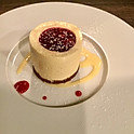 ホワイトチョコレートと木苺のムース /  Mousse au chocolat blanc et aux fraises