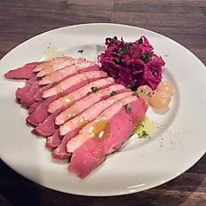 仏・シャラン産鴨胸肉のスモーク