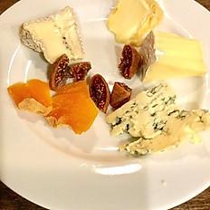 フランスチーズの盛り合わせ