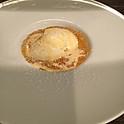 美生柑のゼリーとバニラアイスクリーム