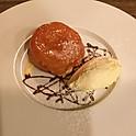 タルトタタンとバニラアイスクリーム
