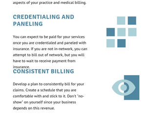 Essentials for Successful Billing