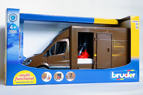 Bruder Mail Truck and Driver