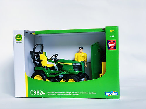 Bruder Lawn Mower and Man
