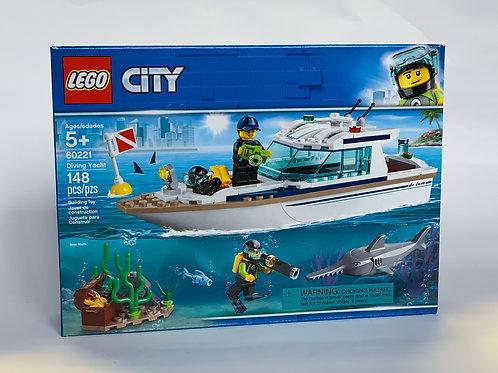 Lego City Driving Yacht