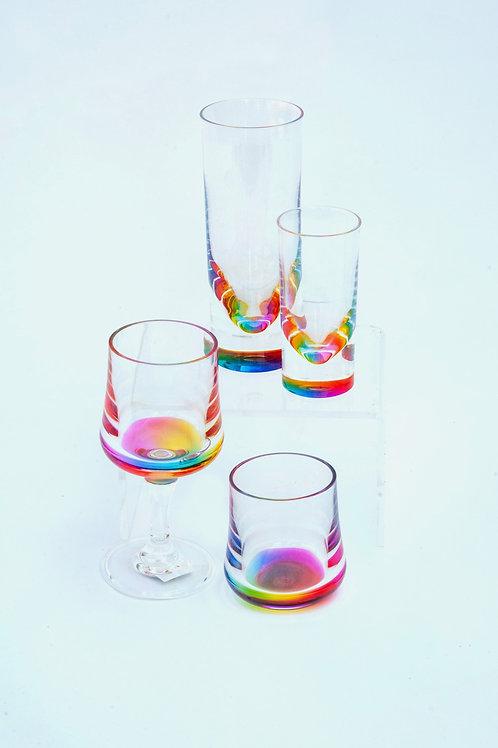 Acrylic Rainbow Glasses