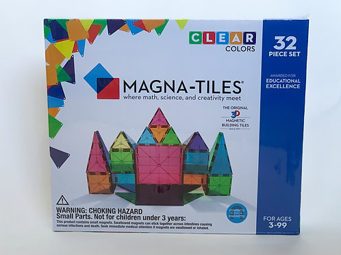 Magna-Tiles 32 Piece Set