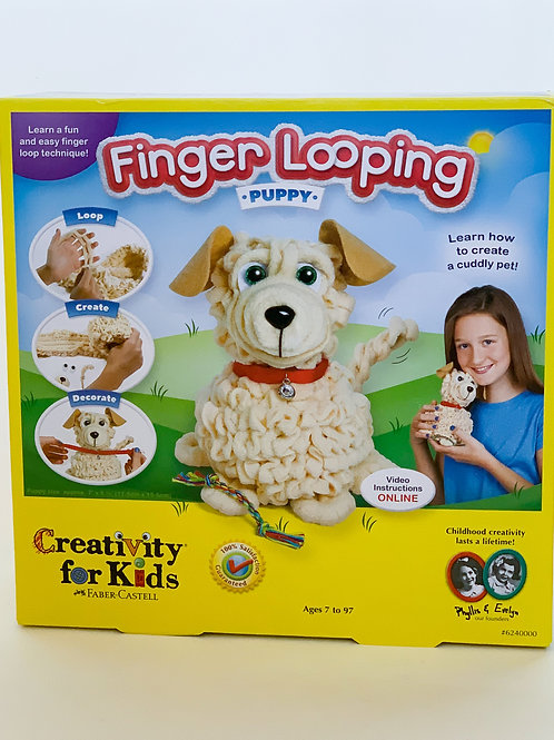Finger Looping Puppy