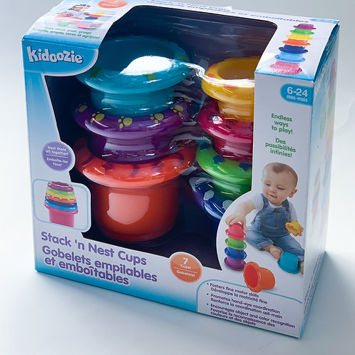 Kidoozie Stack and Nest Cups