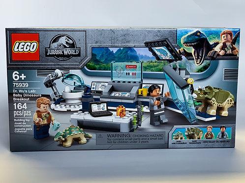 Lego Jurassic World Dr. Wu's Lab