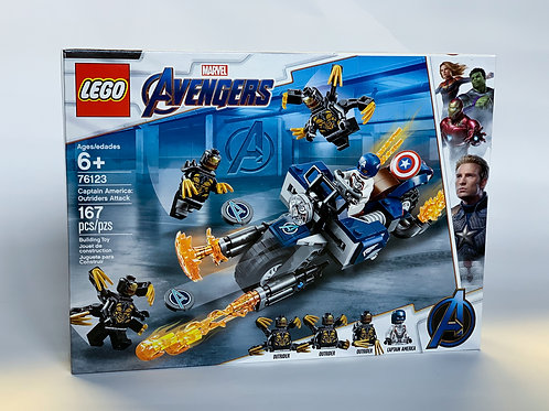 Lego Avengers Captain America: Outriders Attack