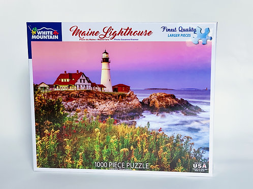 Maine Lighthouse 1000pc