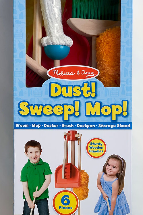 Melissa and Doug - Dust, Sweep, Mop!