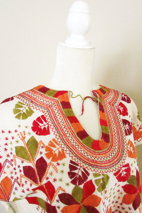 mexican blouse, chiapas fabric, mexican fabric, blouse chamula colorful, blouse handmade, mexican textile,