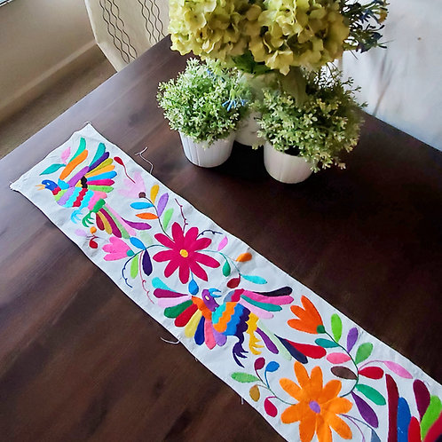 otomi handembroidered, mexican textile, mexican embroidered, otomi fabric, mexican handembroidery, mexican linen, mexican art