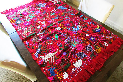 Chiapas tapestry, maya fabric, mexican embroidery , mexican textile