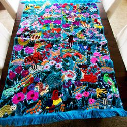 Mexican Tapestry, maya Tzotzil