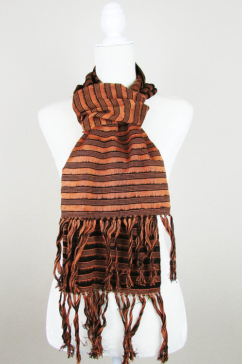 mexican apparel, mexican scarf, mexican garment, maya textile, mexican embroidered, scarf handwoven, barcktrap loom