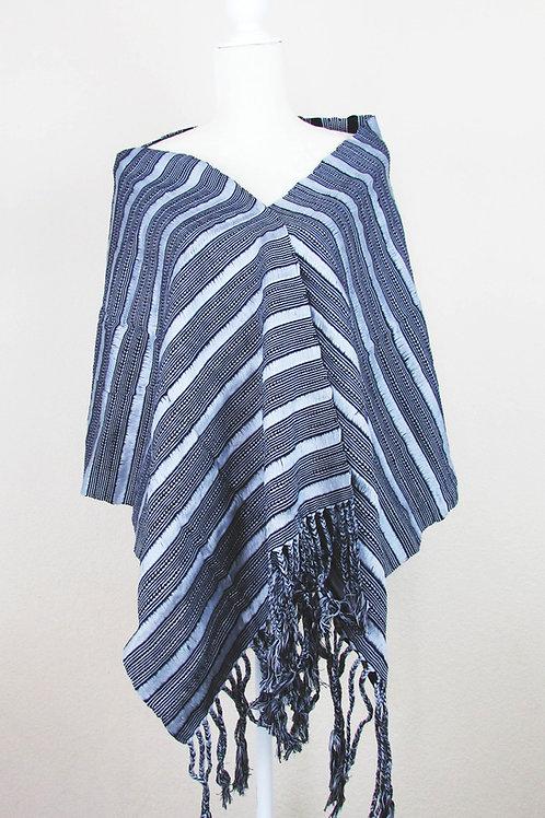 Rebozo mexicano, Mexican Shawl, mexican apparel, mexican garment, shawl handwove, maya textile, rebozo black, mexcian textile