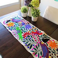 Maya Tzotzil Table runner- Table Runnrs - Arte de Mi Tierra