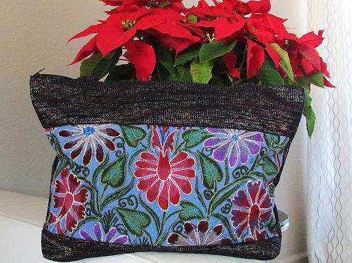 litmus purse, chiapas fabric, chiapas textil, mexican embroidery, mexican handmade, mexican purse, chiapas embroidered.