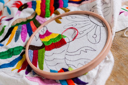 otomi hand embroidery