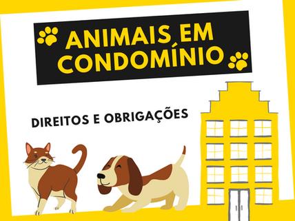 Animais em condomínio: Direitos e obrigações dos donos!