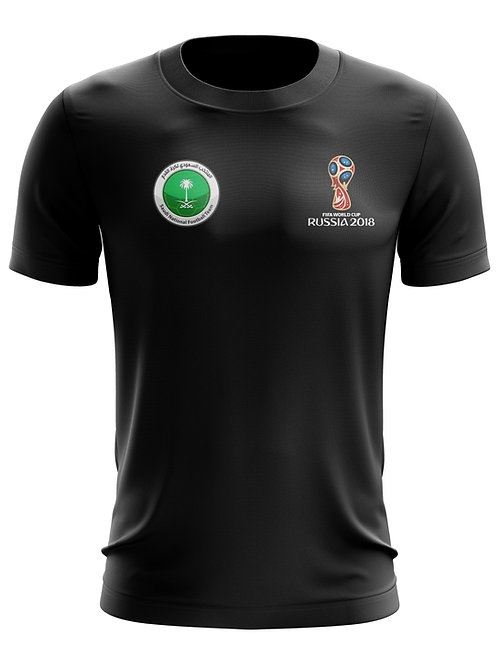 Saudi Arabia World Cup 2018 Black T-Shirt