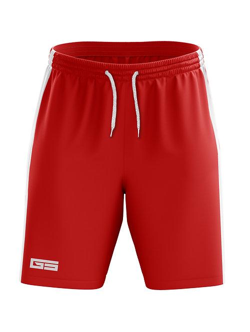 Golati Soccer Shorts (Red/White)
