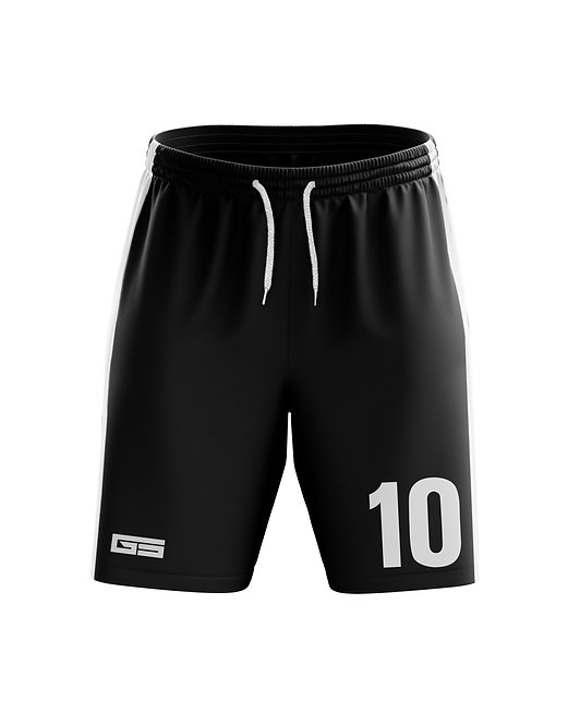 Vipers Black Game Shorts
