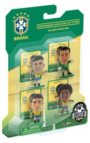 Brazil - 4 Player Blister Pack