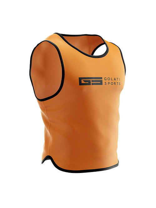 Golati Sports Pinnies Neon Orange