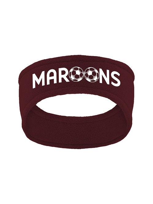 Stretch Fleece Maroon Headband