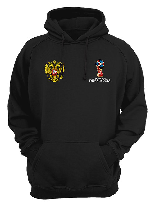 Russia World Cup 2018 Black Hoodie