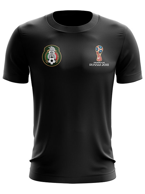 Mexico World Cup 2018 Black T-Shirt