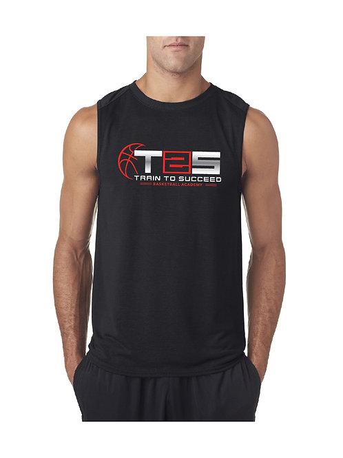 Black Academy Sleeveless T-Shirts