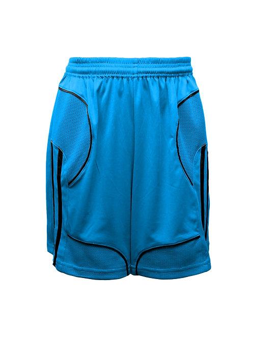 Golati Elite Soccer Shorts (Turquoise/Black)