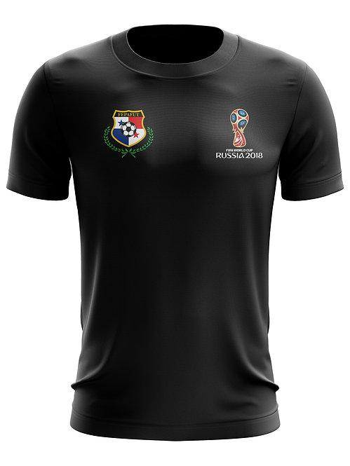 Panama World Cup 2018 Black T-Shirt